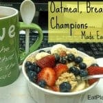 Oatmeal, Breakfast of Champions!