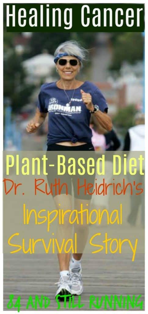 Dr. Ruth Heidrich running race