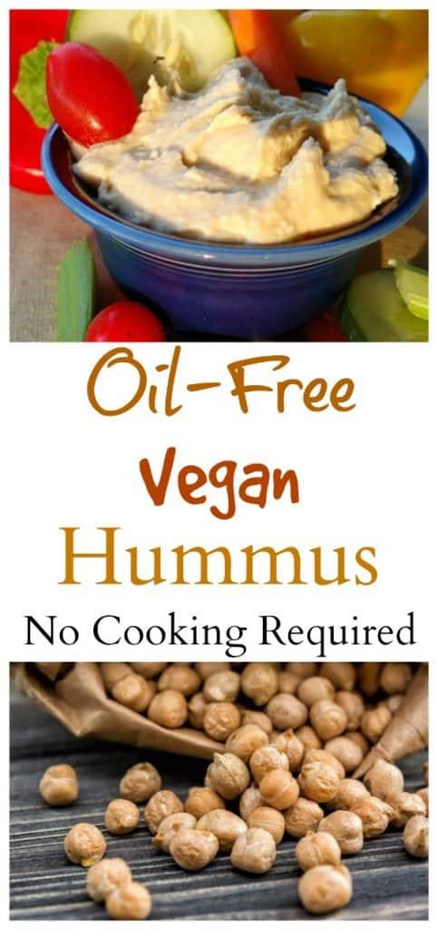 Oil-Free Vegan Hummus