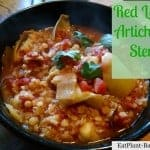 Red Lentil Artichoke Stew