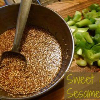 Sweet Ginger Sesame Sauce