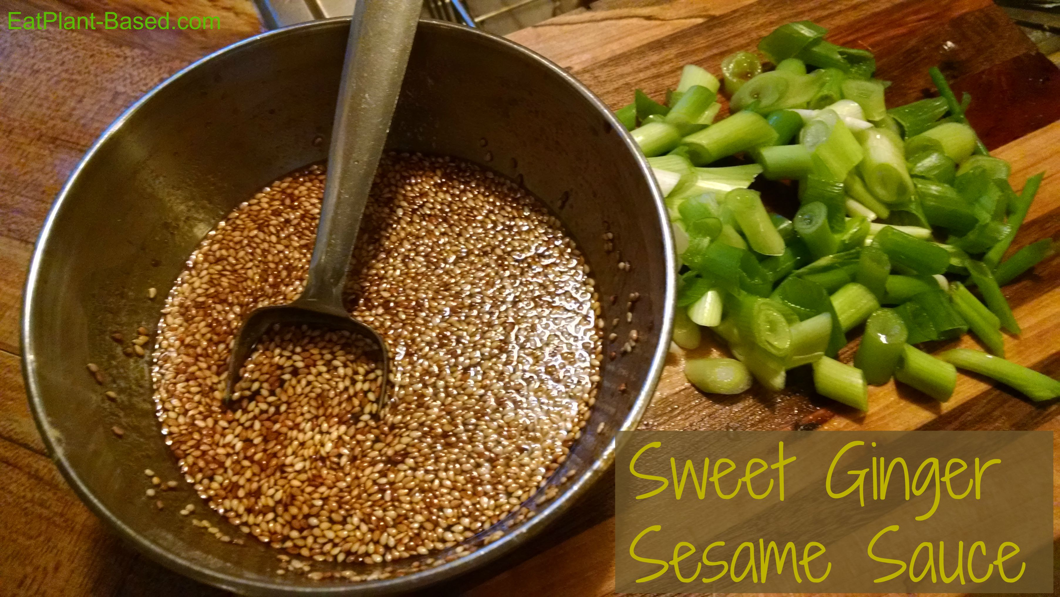 Asian Stir Fry Sauce Sesame Ginger Eatplant Based