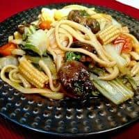 Udon Noodles & Veggies