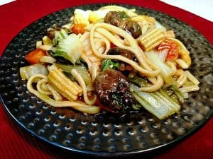 Udon and Veggie Stir Fry