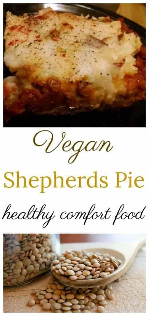 Vegan Shepherds Pie Recipe collage