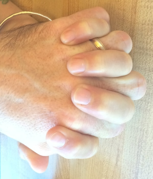 terri edwards and husband hands