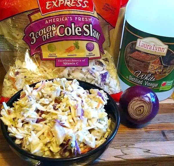 vegan cole slaw ingredients