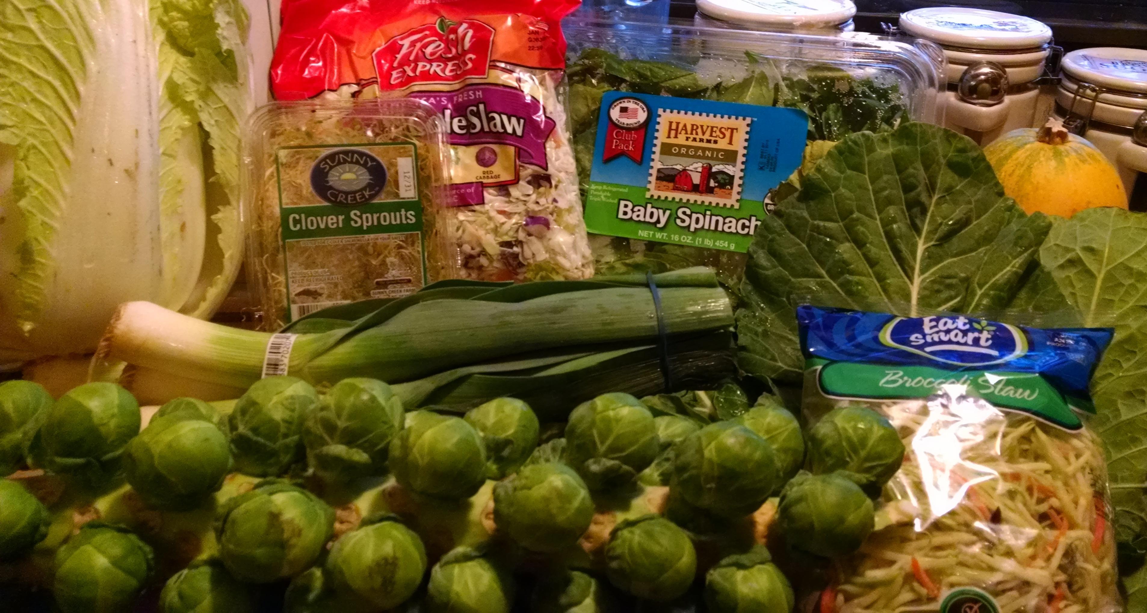 LOVE my veggies!