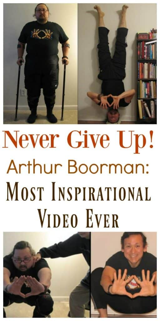 Arthur Boorman Most Inspirational Video collage