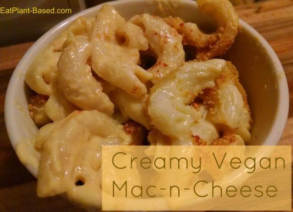 vegan cheese recipe. creamy vegan mac and cheese