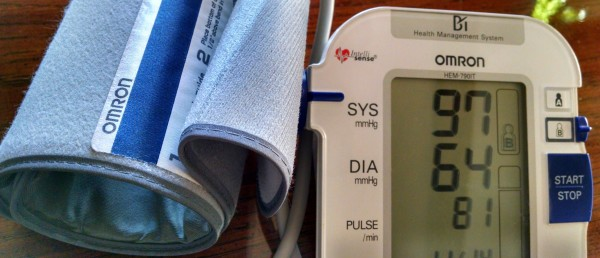 diet more important than exercise. blood pressure reading