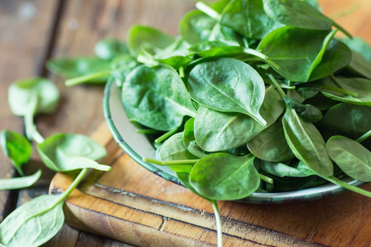 nutrition in spinach