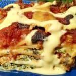 Lasagna spinach black bean