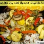 Asian Stir-Fry with Apricot Teriyaki Sauce