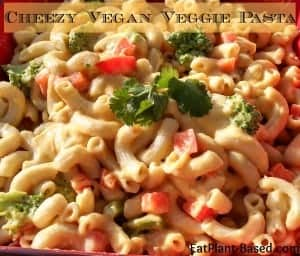 Cheezy Vegan Pasta