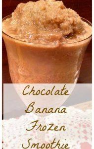 Healthy Chocolate Banana Smoothie