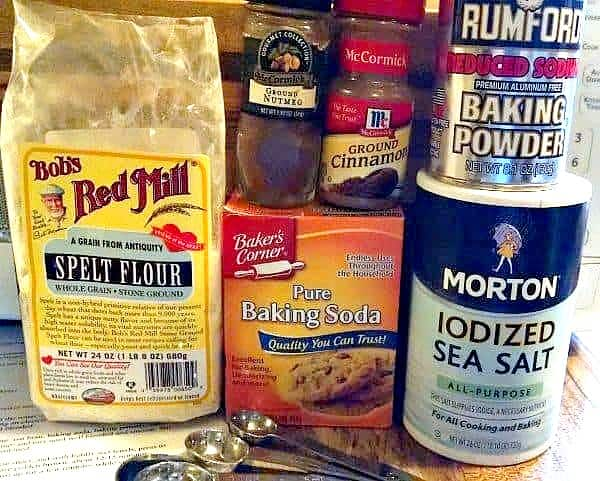 Pumpkin spice cookies dry ingredients