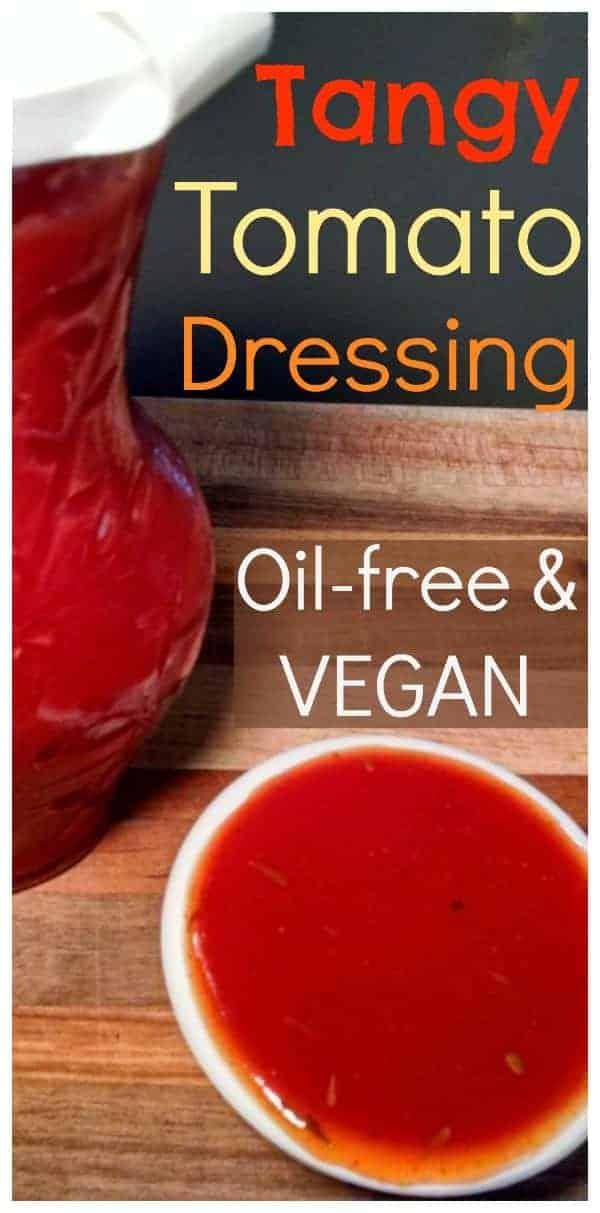 Vegan Salad Dressing | Tangy Tomato