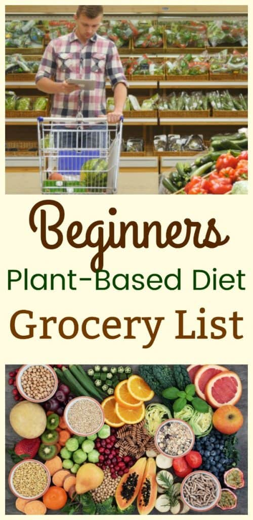 Beginners Plant-Based Diet Grocery List