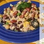 Rainbow Salad with Honey Mustard Sauce