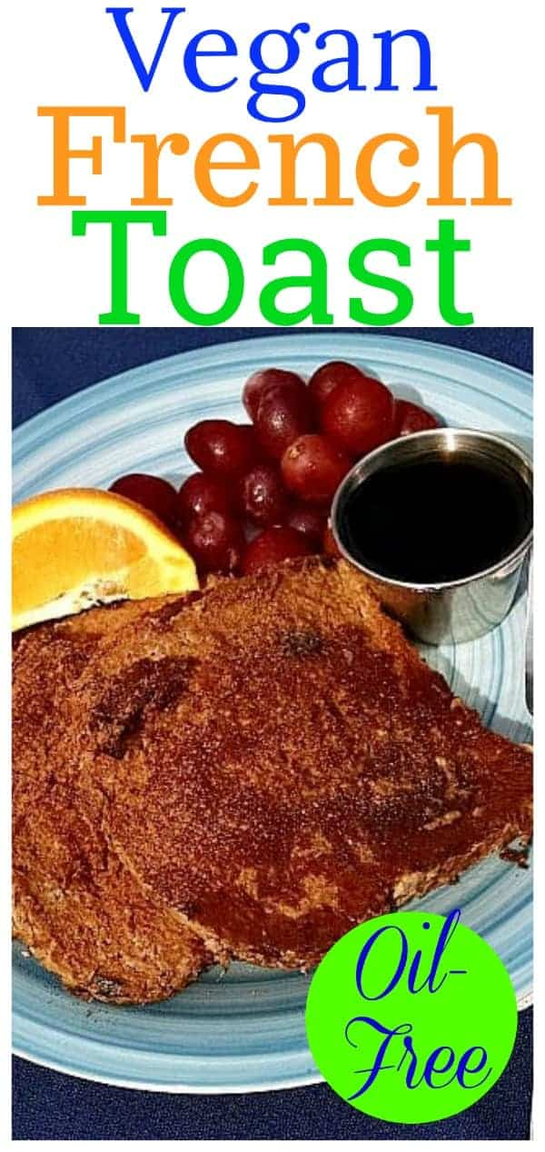 Enjoy this healthy take on one of your favorite breakfast foods, French Toast Vegan. Perfect for breakfast or brunch, this will leave your family smiling. Adapted from Dr. Neal Barnard's book, The Cancer Survivor's Guide.