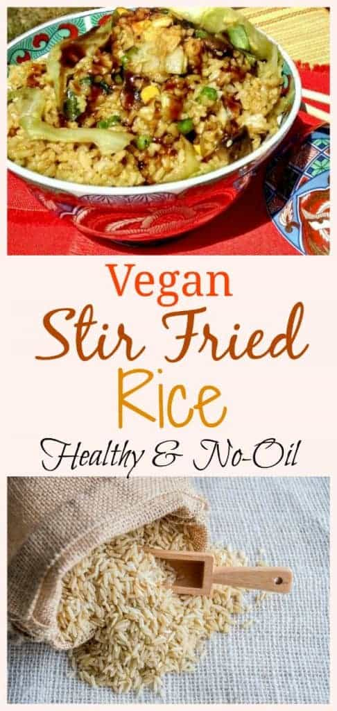 Vegan Stir Fried Rice