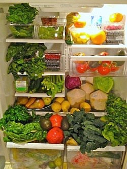 refrigerator foods for plant based grocery list
