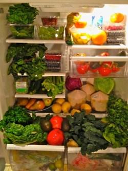 whole food plant-based diet refrigerator foods