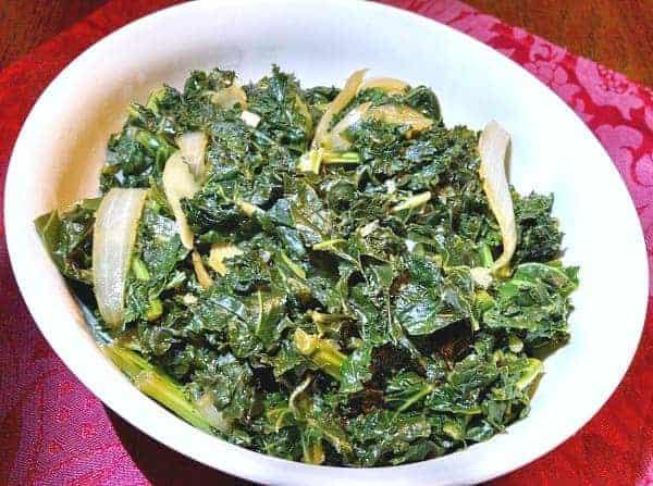 Braised Kale Recipe
