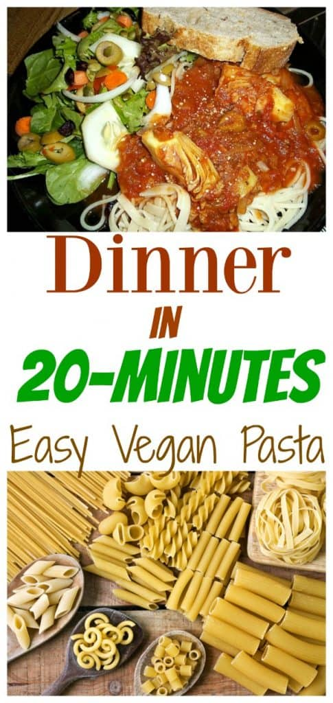easy vegan pasta