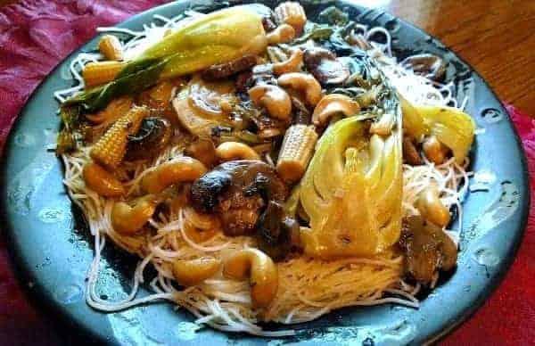 Noodle Vegetable Stir Fry