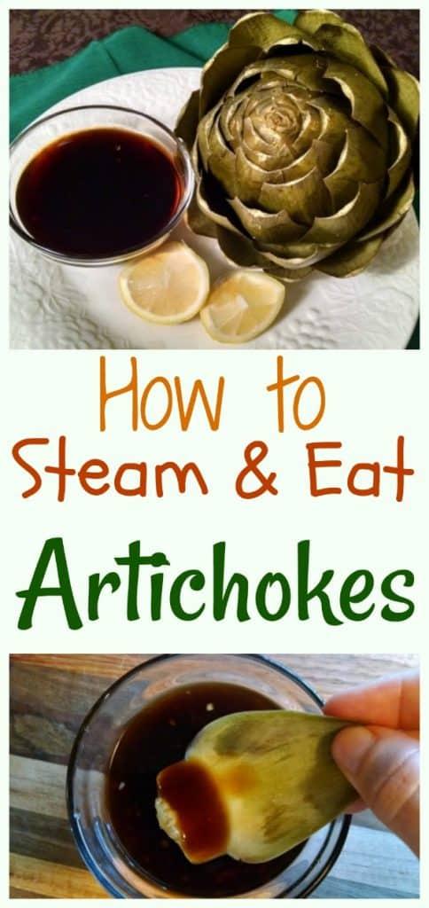 Steaming Artichokes