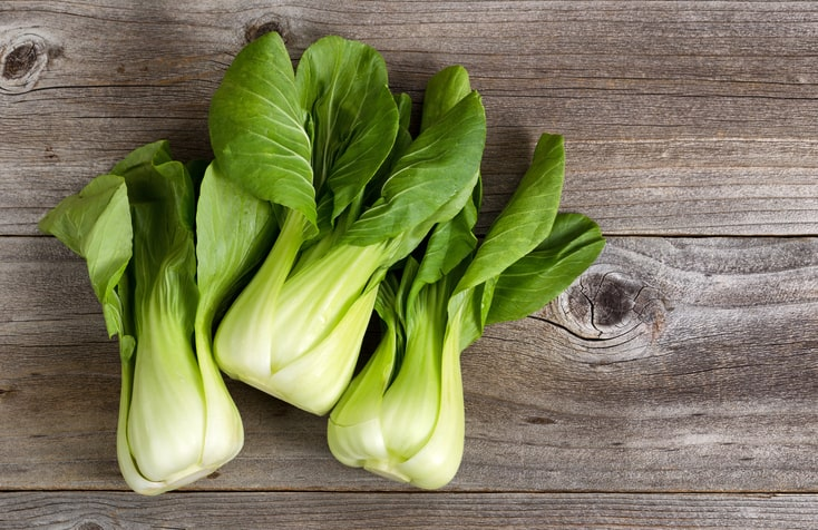 nutrition in bok choy