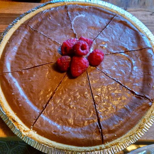Vegan Chocolate Pie No-Bake