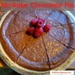 No-Bake Vegan Chocolate Pie