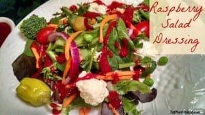 Gluten-Free Salad Dressing | Raspberry
