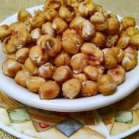 Chickpeas Roasted Snack | Salt and Vinegar