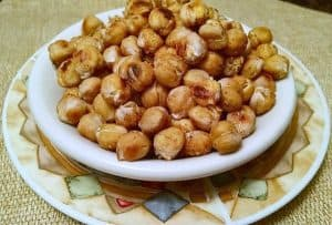 Chickpea Roasted Snack