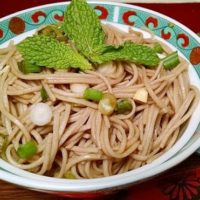 Soba Noodles Vegan Recipe