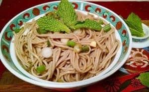 Easy Ginger Soba Noodles