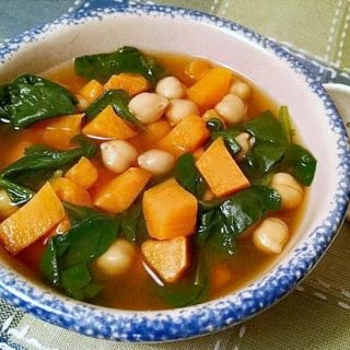 Sweet potato curry soup