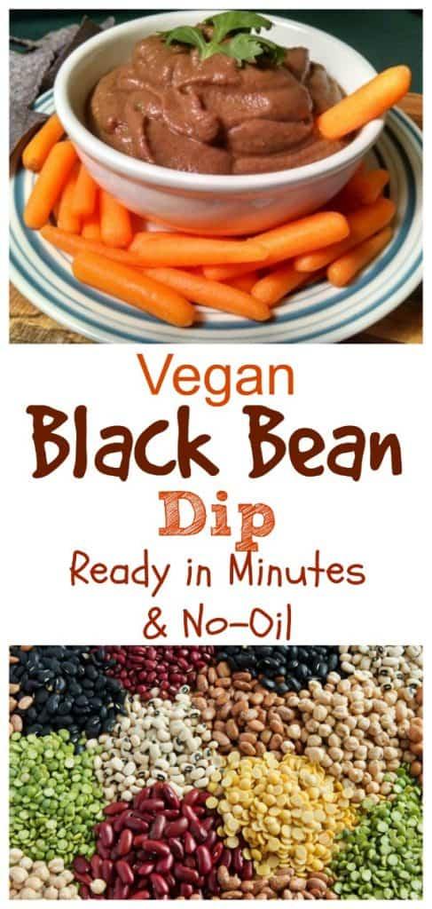 Vegan Black Bean Dip