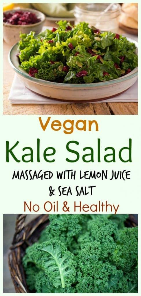 Vegan Massaged Kale Salad