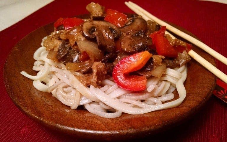 Soba Noodles with Seitan