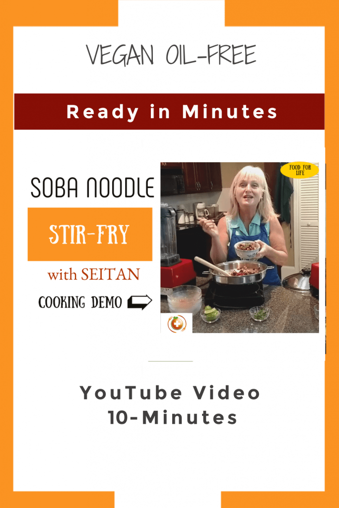 YouTube pin for soba noodle stir fry