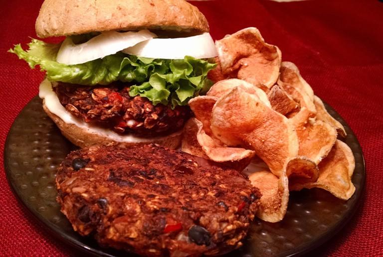 Black Bean Burger 1