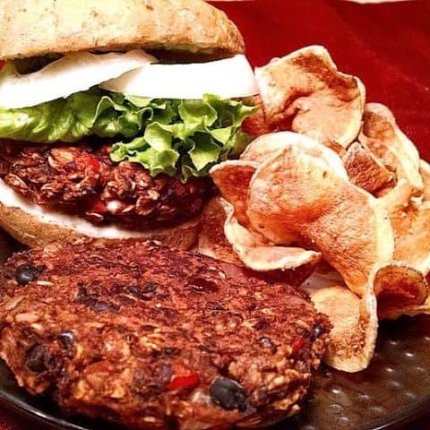 Black Bean Burger | Vegan Recipe