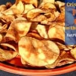 Low-Fat Potato Chips in the Microwave