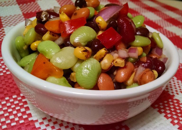 Easy 4-Bean Salad