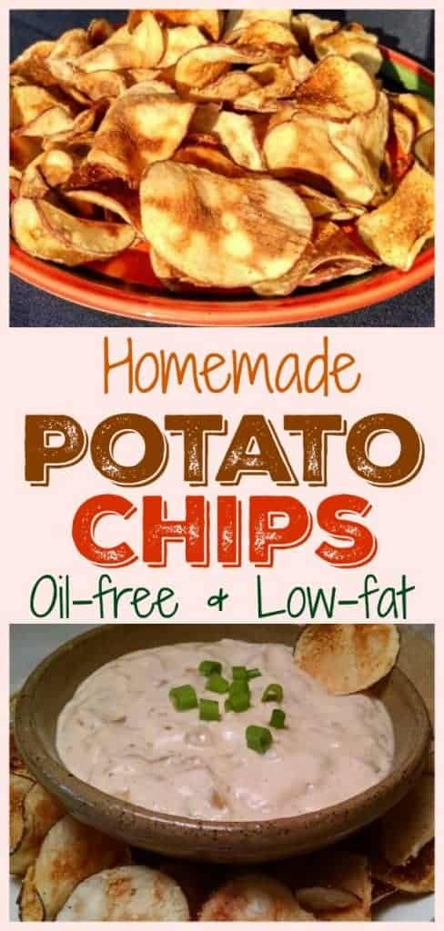 Homemade Low-Fat Potato Chips